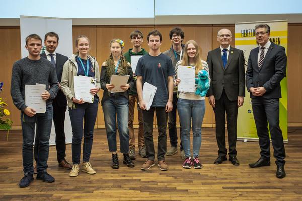 Preisträger Anerkennungspreis Olympiadeklassen 11 und 12