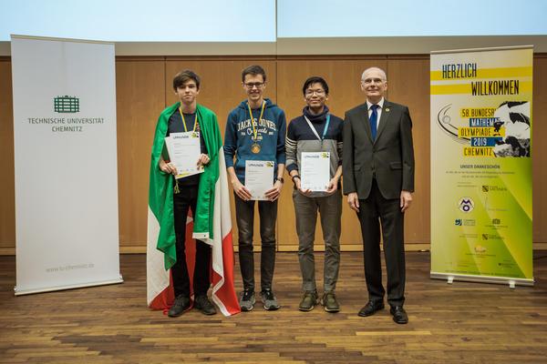 Preisträger Sonderpreis 'Besondere Lösung einer Aufgabe'
