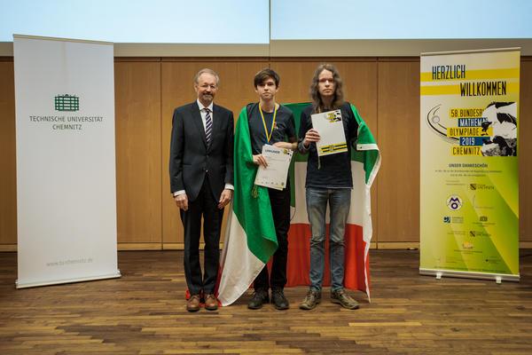 Preisträger Sonderpreis 'Deutsche Mathematiker-Vereinigung e.V.'