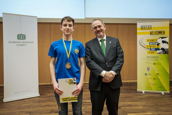 Preisträger Sonderpreis 'Fakultät für Mathematik,  TU Chemnitz'