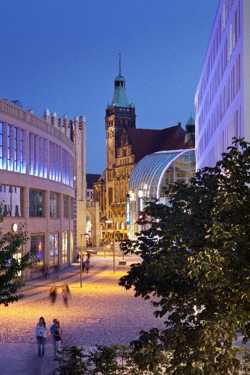 Bild altes Rathaus Chemnitz