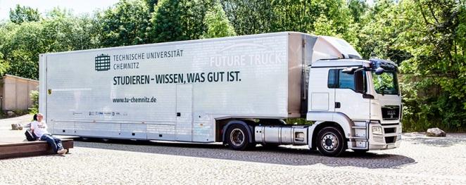 Bild TU Chemnitz Truck