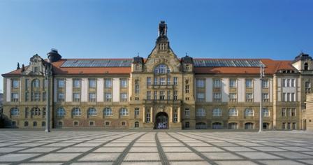Bild Gebäude Kunstsammlungen Chemnitz am Theaterplatz