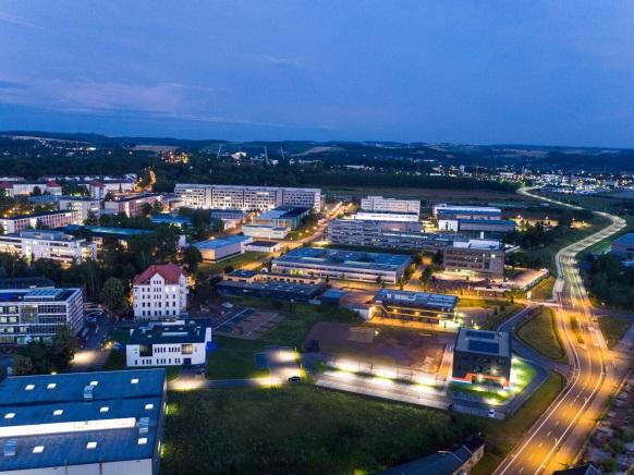 Luftbild Technologie Centrum Chemnitz